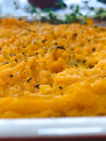 Sweet Potato and Lentil Bake