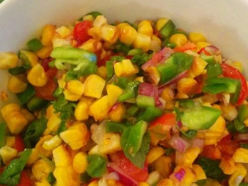 Charred Corn Salad