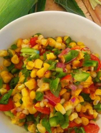 Charred Corn Salad