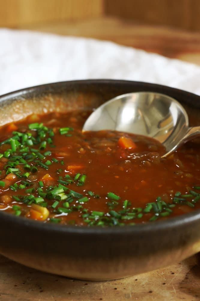 Lentil & Tomato Soup