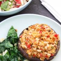 Amazing Vegan Stuffed Mushrooms