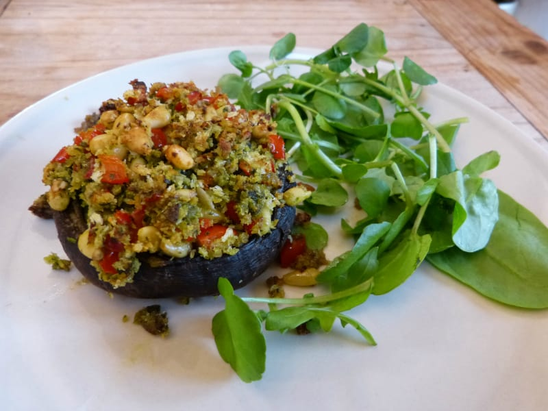 Stuffed Mushrooms #2