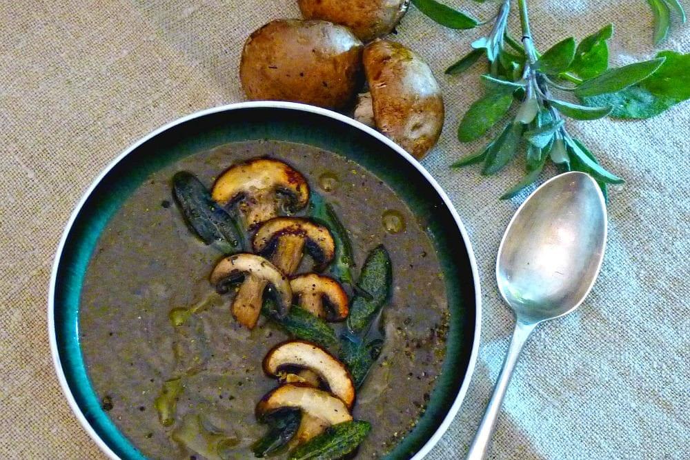 Intensely Mushroomy, Mushroom Soup