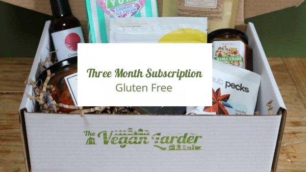 Three Month Gluten Free Subscription