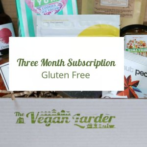 Three Month Gluten Free Subscription