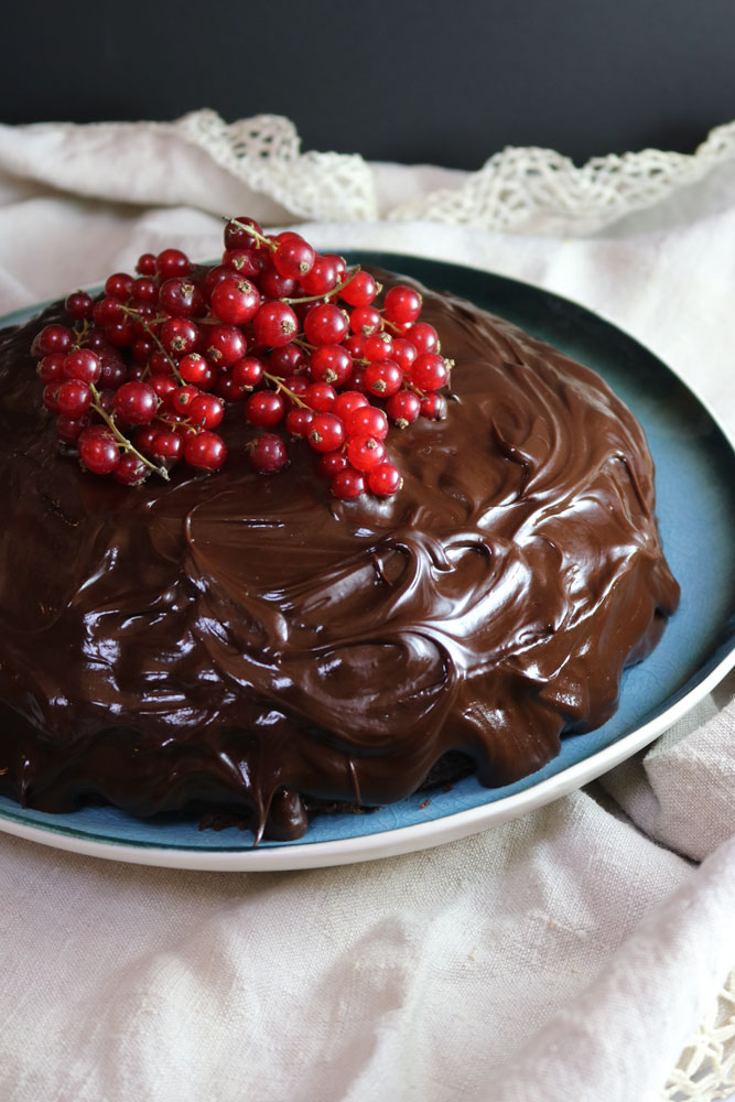 The Best Vegan Chocolate Cake! (With a Gluten Free Option!)