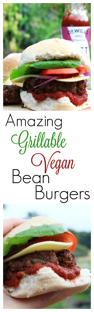 Vegan Bean Burgers Pinterest