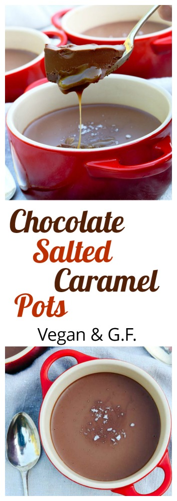 Vegan Chocolate Salted Caramel Pots PIN