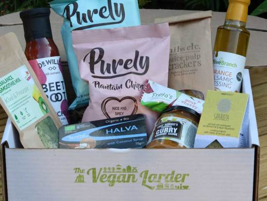 The Vegan Larder July Box