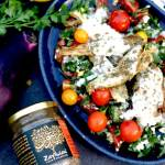Smokey Aubergine Salad