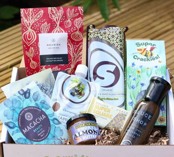 The September Box open with all contents showing