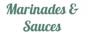 Marinades, Sauces & Oils