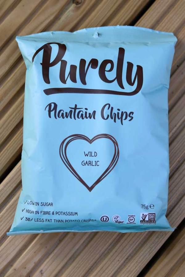 Purely Wild Garlic Plantain Chips