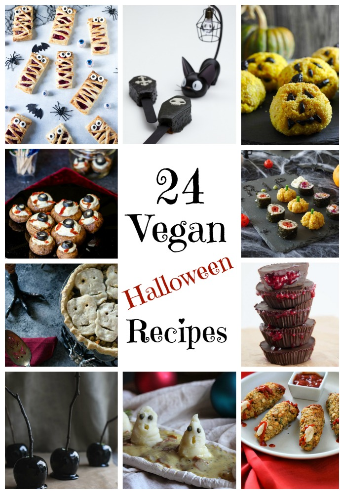 Huge Halloween Round Up! 24 Vegan Recipes!