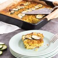 Vegan Courgette & Leek Frittata