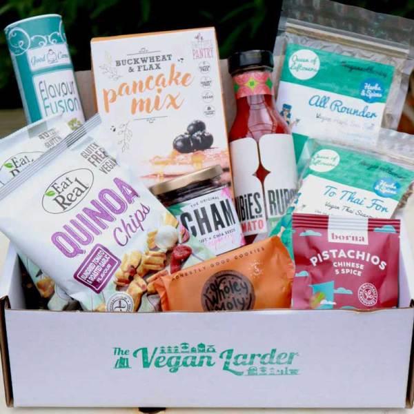 The Vegan Larder August 2019 box