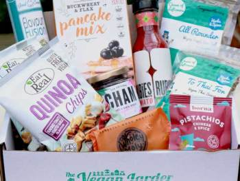 The Vegan Larder August 2019 box