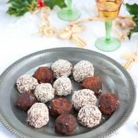 Granny's Famous Rum Balls made Vegan!