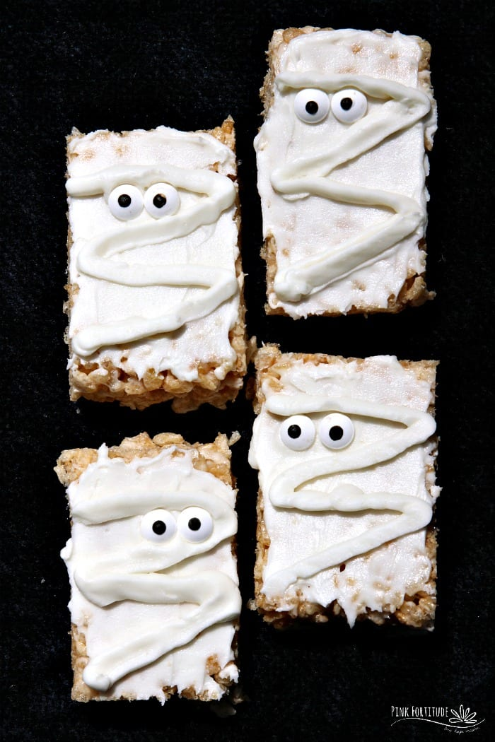 Mummy Rice Crispy Treats