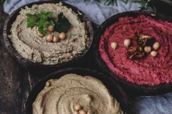 3erlei Hummus