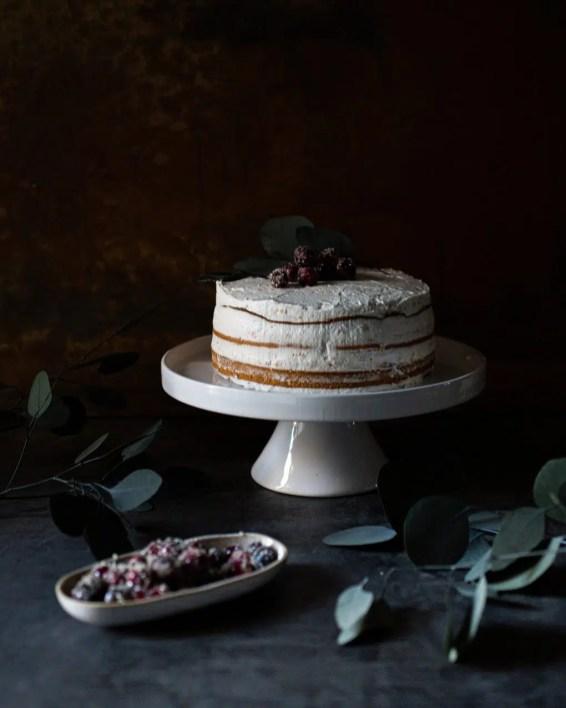 Almond Bliss Vego White Torte