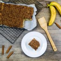 Cuque de banana (Banana Cake)