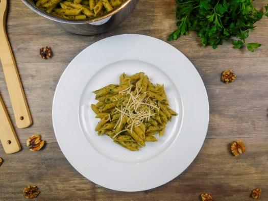 Walnut-Pesto Pasta