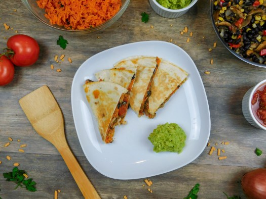 20-Minute Veggie Quesadillas