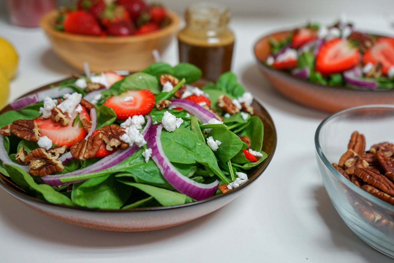 Strawberry Salad with Poppy Seed Dressing