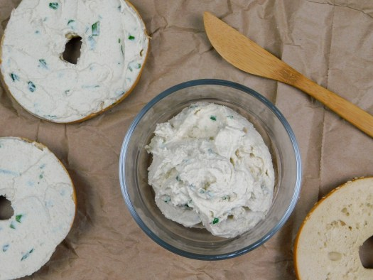 Cashew Chive Cream Cheese