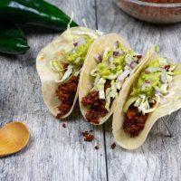 Chipotle Adobo Chorizo Tacos
