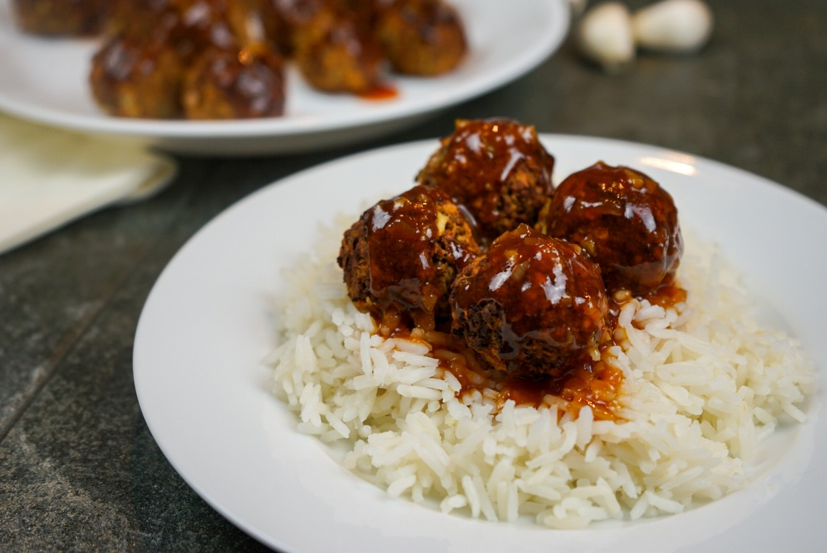 Asian-Style Meatless Meatballs - The Vegan Rhino