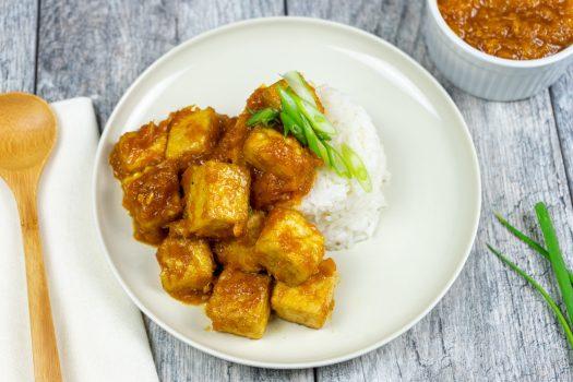 Vegan Orange Tofu - The Vegan  Rhino