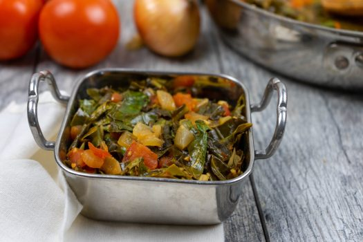 Quick Collard Greens - The Vegan Rhino