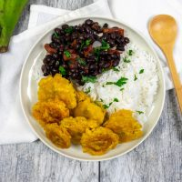 Tostones- Fried Green Plantains