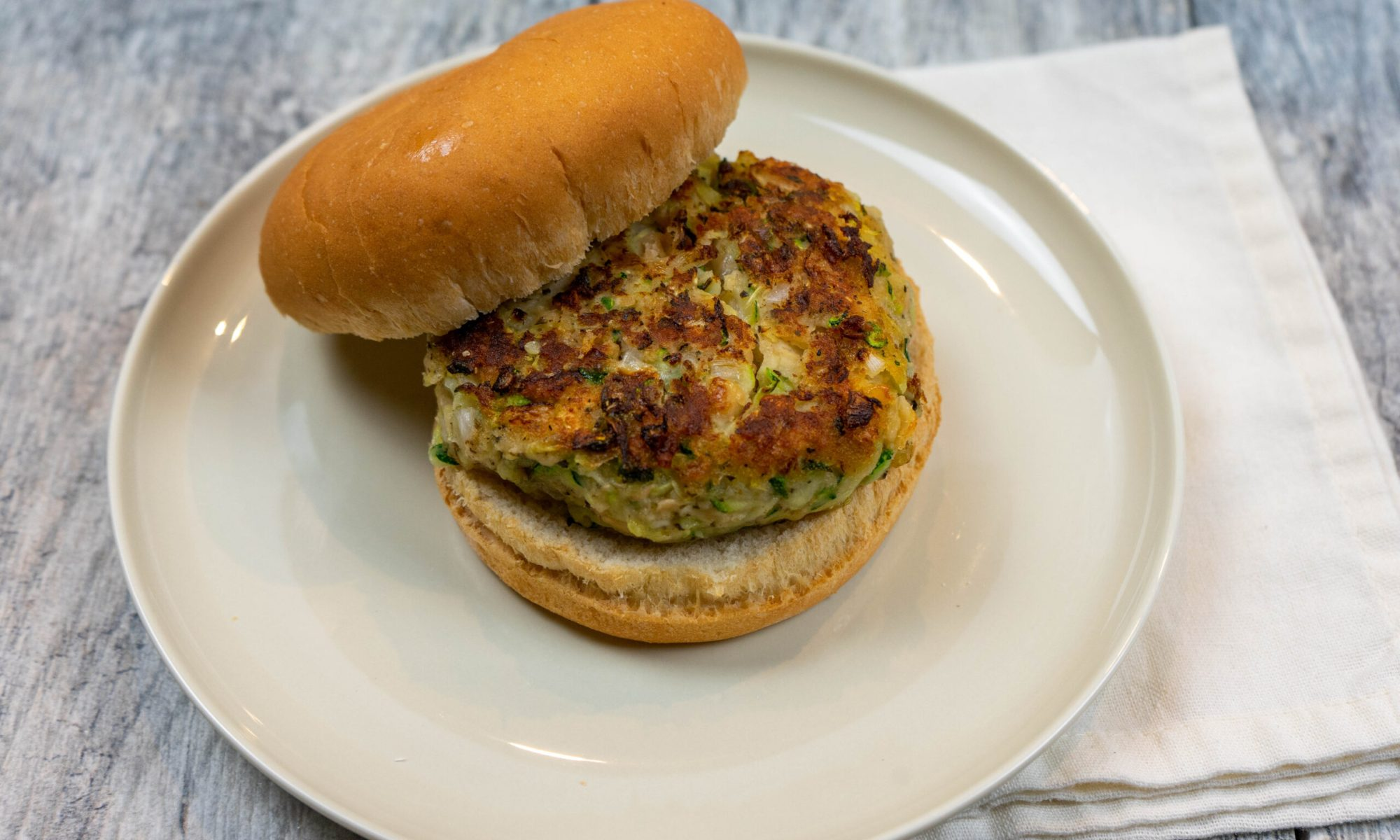 Zucchini Burgers - The Vegan Rhino