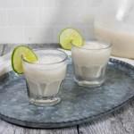 Key Lime Pie Margaritas - The Vegan Rhino