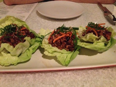 Lettuce Wraps at True Food