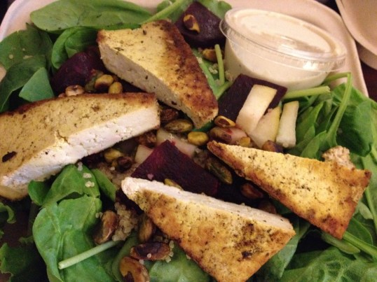 Pear and Pistachio Salad