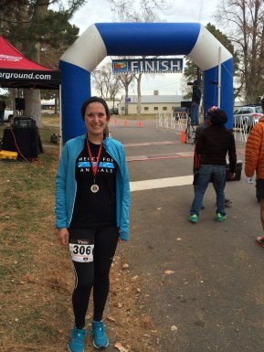 Finished the race!