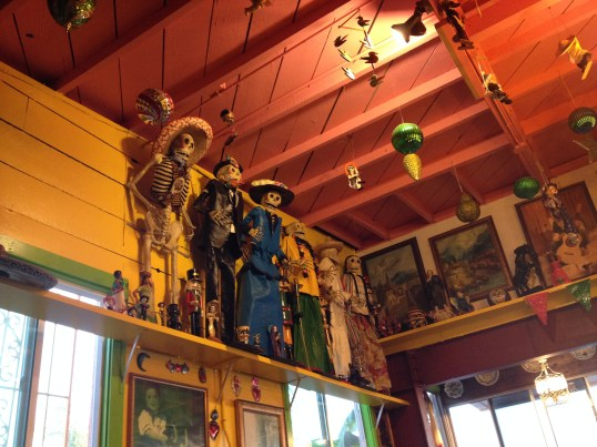 Awesome Decor at Olamendi's Mexican Restaurant in Dana Point