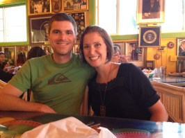 No pics of the food this time, just me and the Hubby at Olamendi's Mexican Restaurant in Dana Point