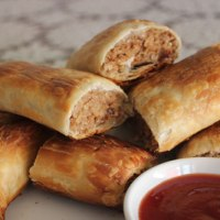 Homemade Vegetarian Sausage Rolls