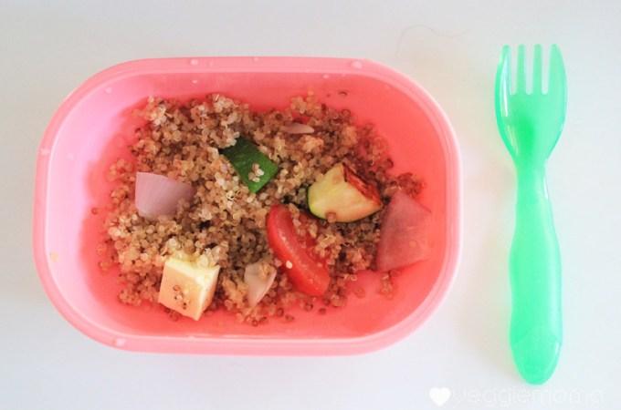 kid food ideas: quinoa with roasted veggies | Veggie mama