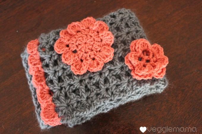 Free crochet pattern: vintage-style scarf