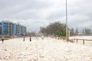 Mooloolaba flood foam
