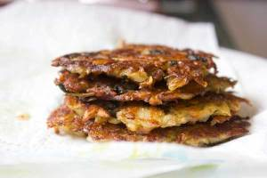 Latkes \ potato fritters \ mock fish | Veggie Mama