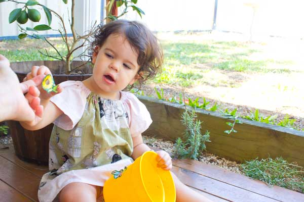 Gardening with kids and a Mr Fothergill's giveaway!