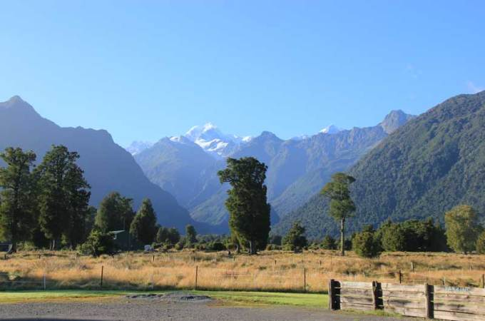 VM vs NZ Day Two: Fox Glacier to Queenstown
