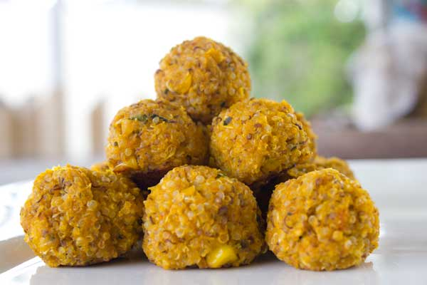 Kid food: Veggie Quinoa Bites